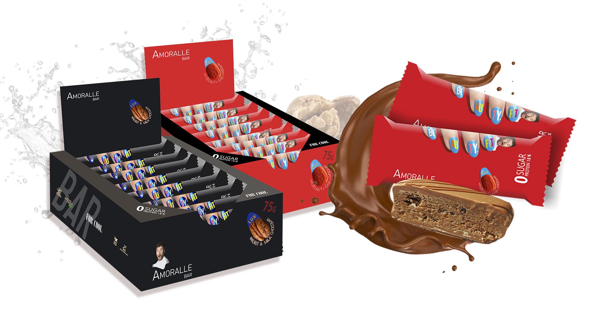 Amoralle Протеиновый шоколад luxury